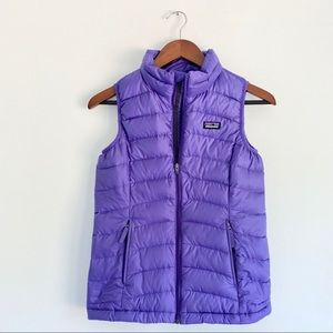 Patagonia Girls Down Filled Puffer Vest
